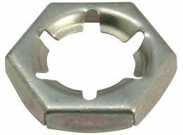 Контргайка (гайка стопорная) DIN 7967 стальная пружинная,