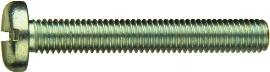 DIN 85 — винт с полукруглой головкой с вдавленным шлицем прямого типа (прямой шлиц
