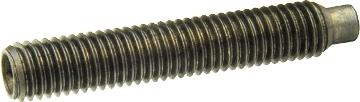 DIN 915 — винт установочный с метрической резьбой, с внутренним шестигранником и цапфой.