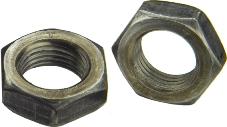 DIN 936 Гайка низкая шестигранная, диаметр резьбы от М2 до М52, аналог ISO 4035.