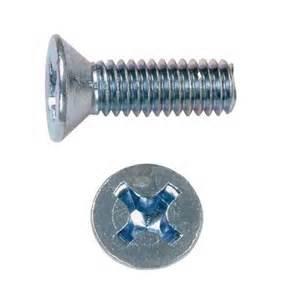 DIN 965 — винт с потайной головкой с крестообразным шлицем Ph или Pz.